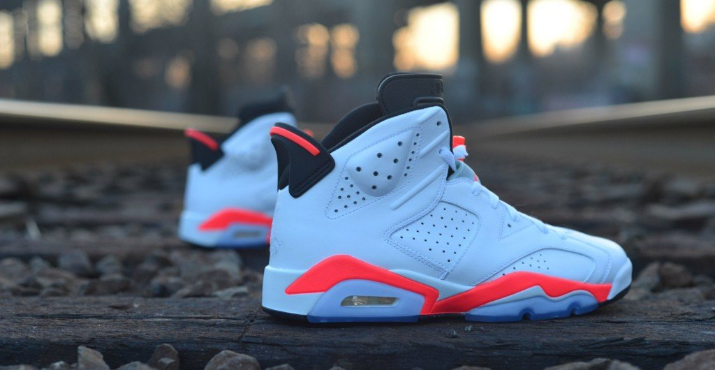 Air Jordan 6 Retro Infrared Nikes Discount Jordan Shoes Clearance