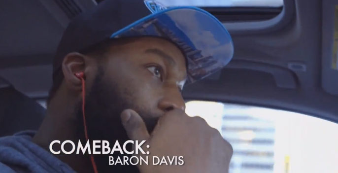 "Baron Davis talks about being a ""dominant fat"" & making a NBA comeback"