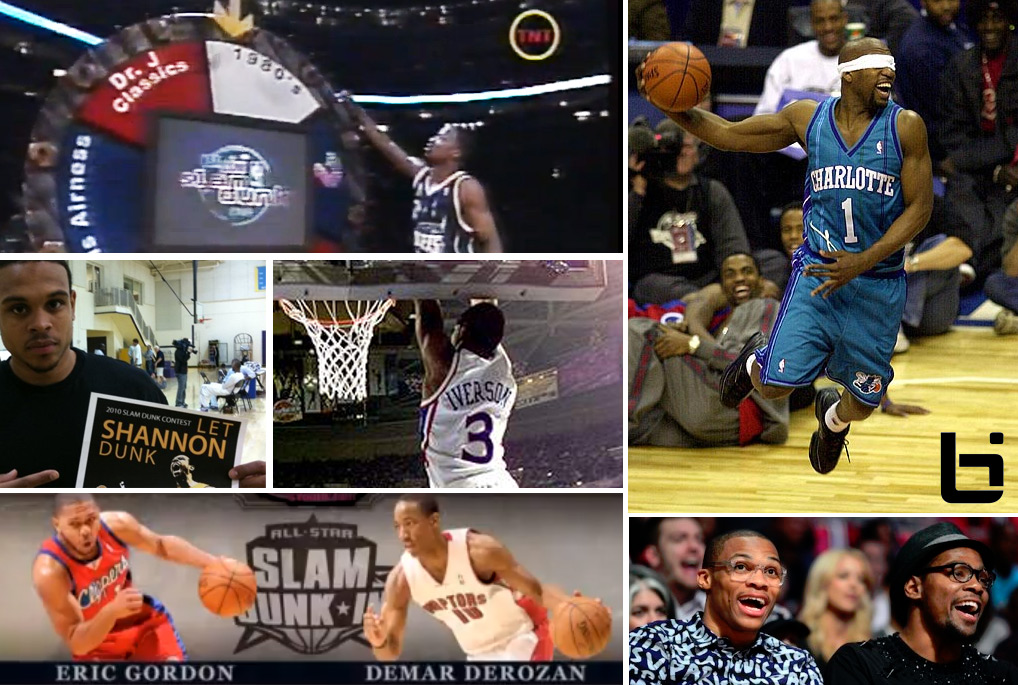 The New Dunk Contest format + The 15 most disappointing NBA dunk contest moments (you don't remember)