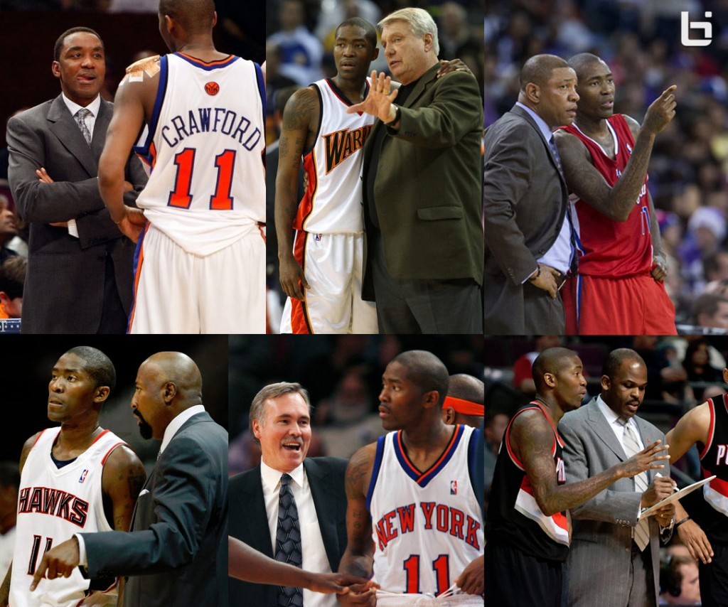 Jamal Crawford names all 17 NBA coaches he's had – on the spot!