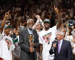 Bill Russell thanked/roasted LeBron James for leaving him off his NBA Mount Rushmore