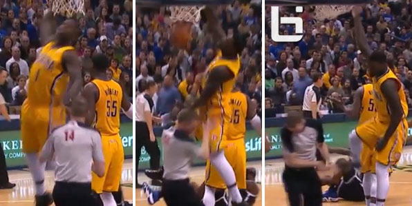 Lance Stephenson Dunks Lance Stephenson Pissed About