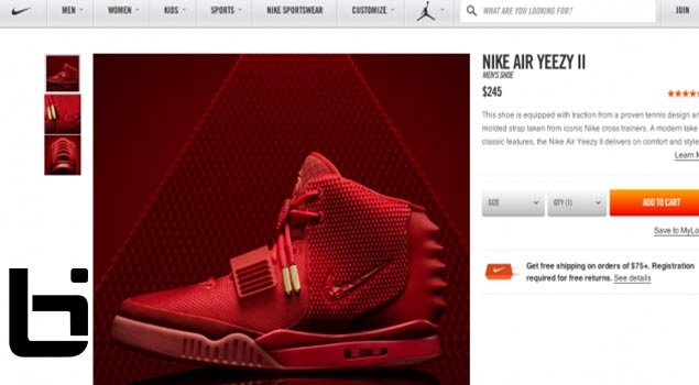 Nike Unexpectedly Releases Nike Red October Yeezy's