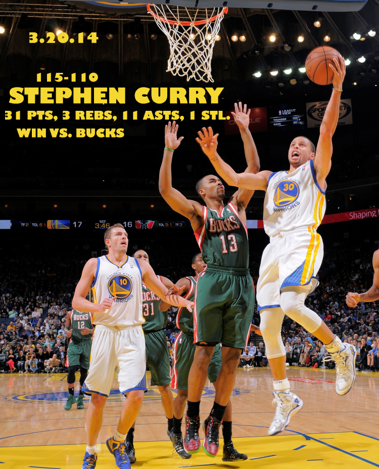 Curry 31 Pts