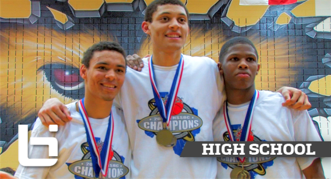 Justin Jackson UNC Commit- 3 PEAT State Champion!