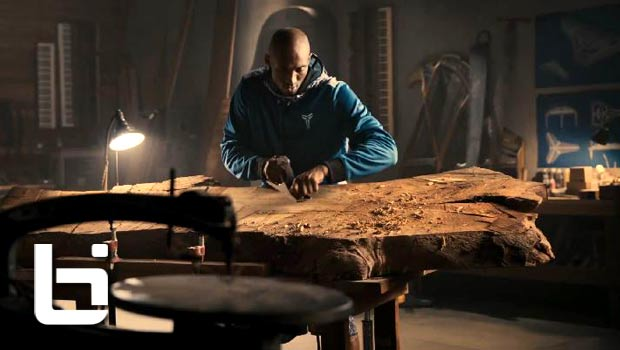 Kobe Bryant Makes His Own Piano In New Footlocker Commercial