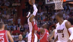 LeBron James dunks on Dwight Howard   03.16.2014    YouTube