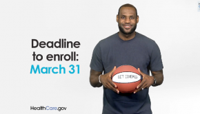 Lebron James   GetCovered by March 31   YouTube
