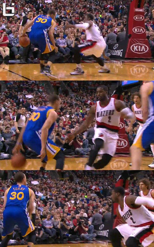Stephen Curry 37 Points Amp The Double Behind The Back