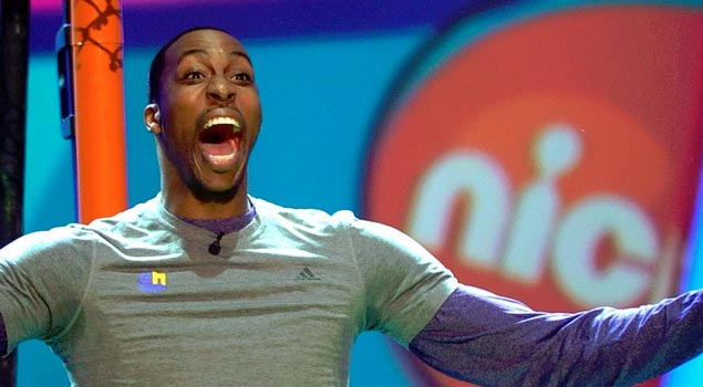 "Dwight Howard nominated for ""Most Enthusiastic Athlete"" at Nickelodean Kids Choice Awards"