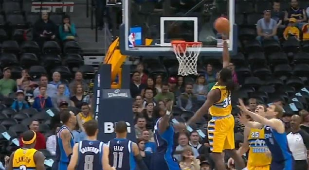 Kenneth Faried with the self assist off the backboard | Kobe off the glass compilation