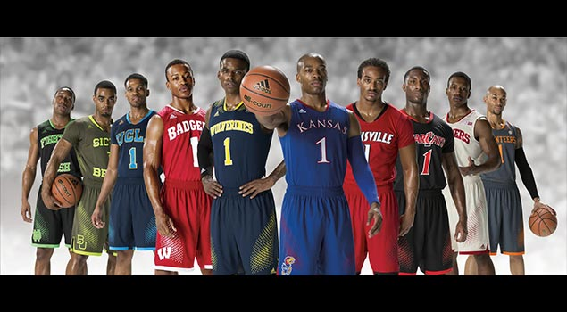 Custom March Madness Uniforms for adidas Schools!