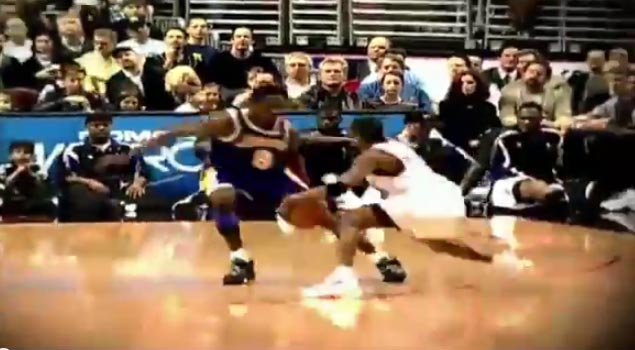 (1999) Allen Iverson Drops 41 on Kobe Bryant, Crosses Him Twice In the Same Game!