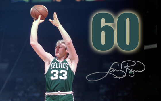 This Day in History (3.12.85) Larry Bird drops 60 on the Hawks (ATL bench players go crazy)