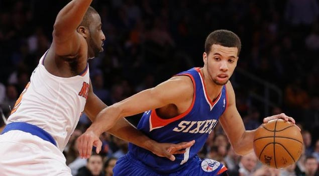Michael Carter-Williams records 2nd career triple double vs Knicks