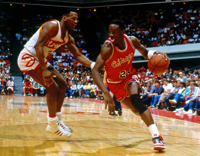 huge selection of 0a7d3 b72ff (1987) Michael Jordan Makes History By Scoring 61 In The Final Game Of The