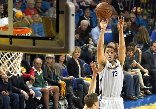 Seth Curry scores 44 points (10 of 15 shooting) in 1st D-League playoff game