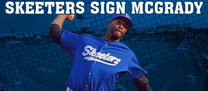 Sugarland Skeeters sign Tracy McGrady