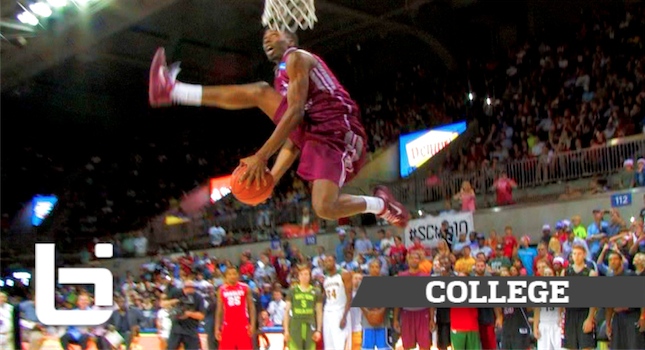 Best Dunk Contest of 2014? Adreian Payne & Marcus Lewis Destory College Dunk Contest!