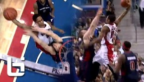 Ballislife | Demar Derozan over Singler