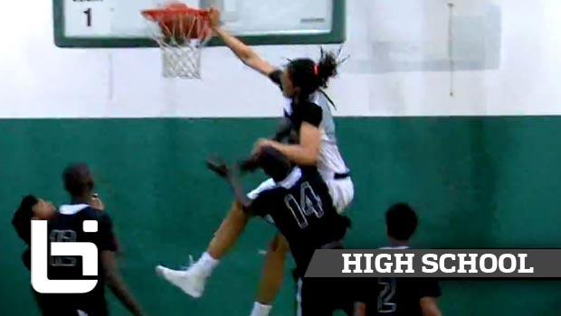 Develle Phillps Puts 7'0 Thon Maker on a POSTER at Hoop Group Southern Jam Fest