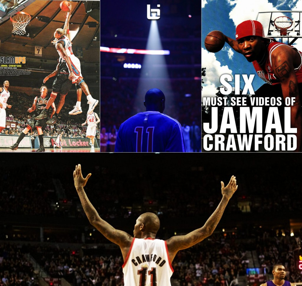 Jamal Crawford wins 6th man of the year | 6 Must See JCrossover Videos