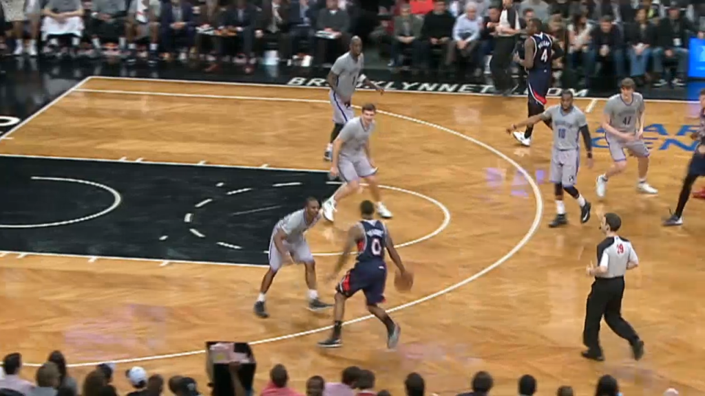 Jeff Teague Breaks Younger Brother Marquis' Ankles With a Nasty Crossover