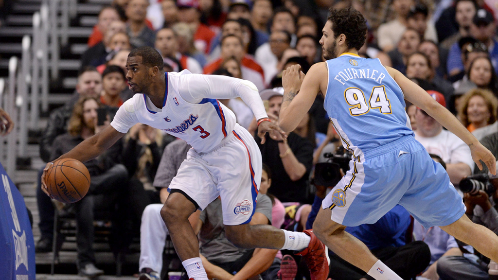 Chris Paul Puts Evan Fournier into Spin Cycle