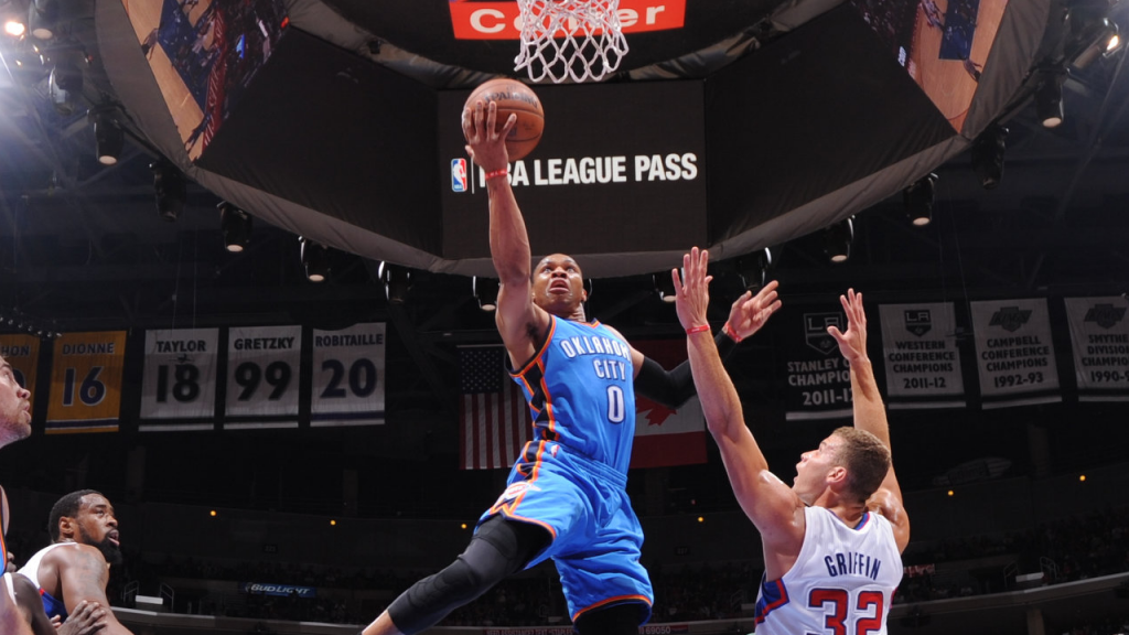 Russell Westbrook Explodes for 30 Points vs the Clippers