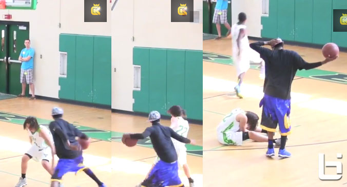 Hot Sauce dropping defenders in new Court Kingz video