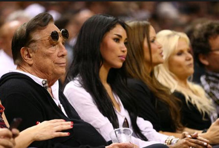 Cheap, Racist A$$hole Clippers owner Donald Sterling tells girlfriend not to bring black people to games