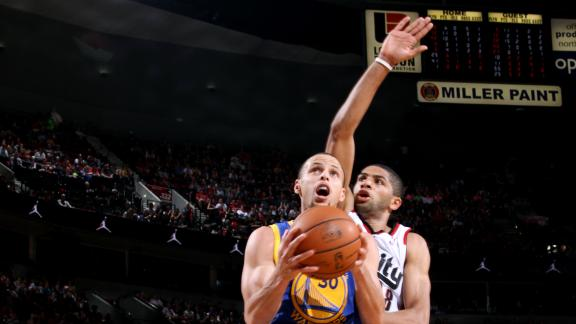 Stephen Curry scores season-high 47 points in a loss vs Blazers