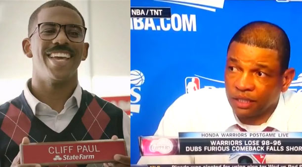 """Doc Rivers calls Chris Paul """"Cliff"""" during post game conference"""