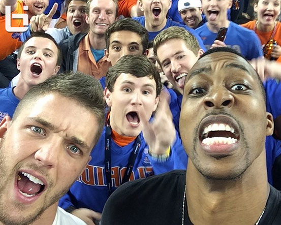 Dwight Howard booed at NCAA Final Four game
