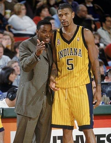 On this day in history (4.18.01) Jalen Rose became the first Pacer with a 20/20(asts) game