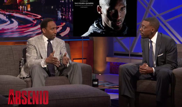 "Stephen A. Smith defends Kobe's comments about Trayvon Martin & goes off on ""Black Twitter"" on Arsenio Hall Show"