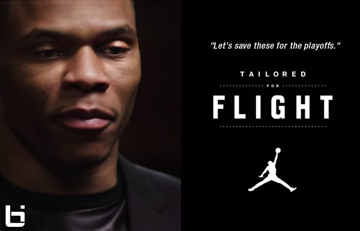 "Russell Westbrook ""Tailored for Flight"" Teaser"