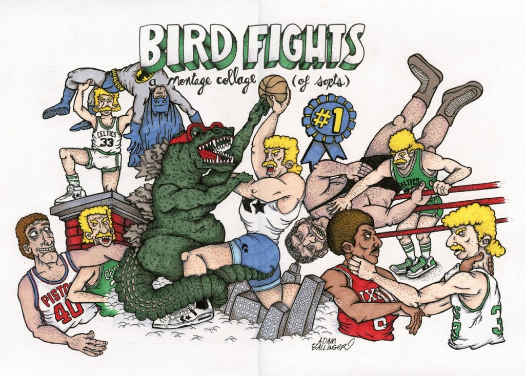 Larry Bird Fight Compilation