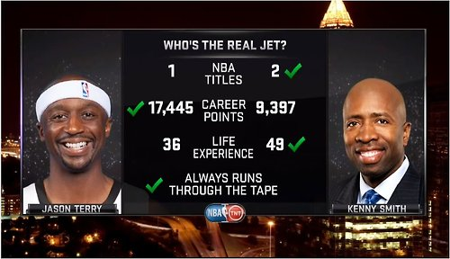 Kenny Smith vs Jason Terry – The Real Jet
