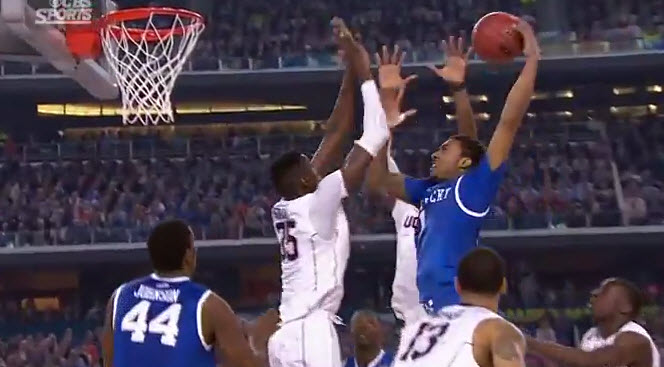 James Young nasty dunk over UConn – from every angle!