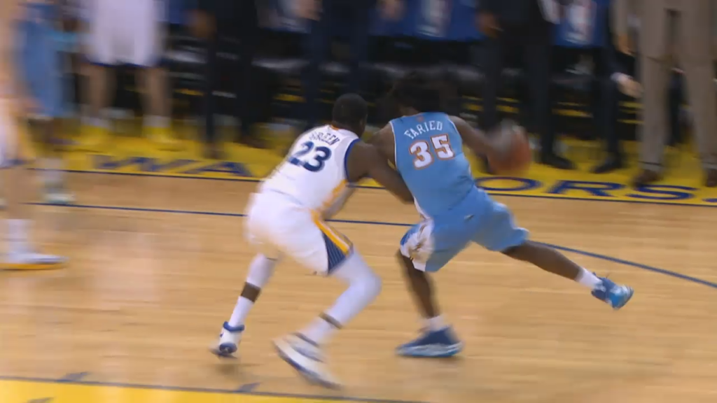 Kenneth Faried Hits Game-winner to Prevent Warriors from Clinching Playoff Berth