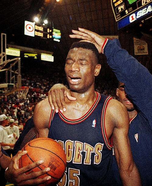 This Day In History (5.7.1994): No.8 Nuggets Upset The No