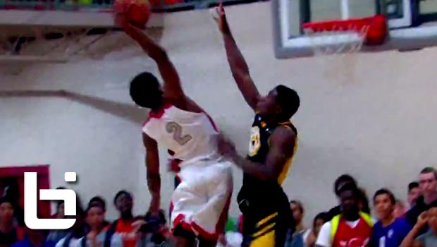 Antonio Blakeney Ends a Wild Dunk Sequence by SHUTTING THE GYM DOWN!