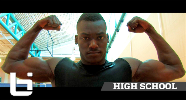 The 7'0″ 250 POUND BEAST! D'Jery Baptiste