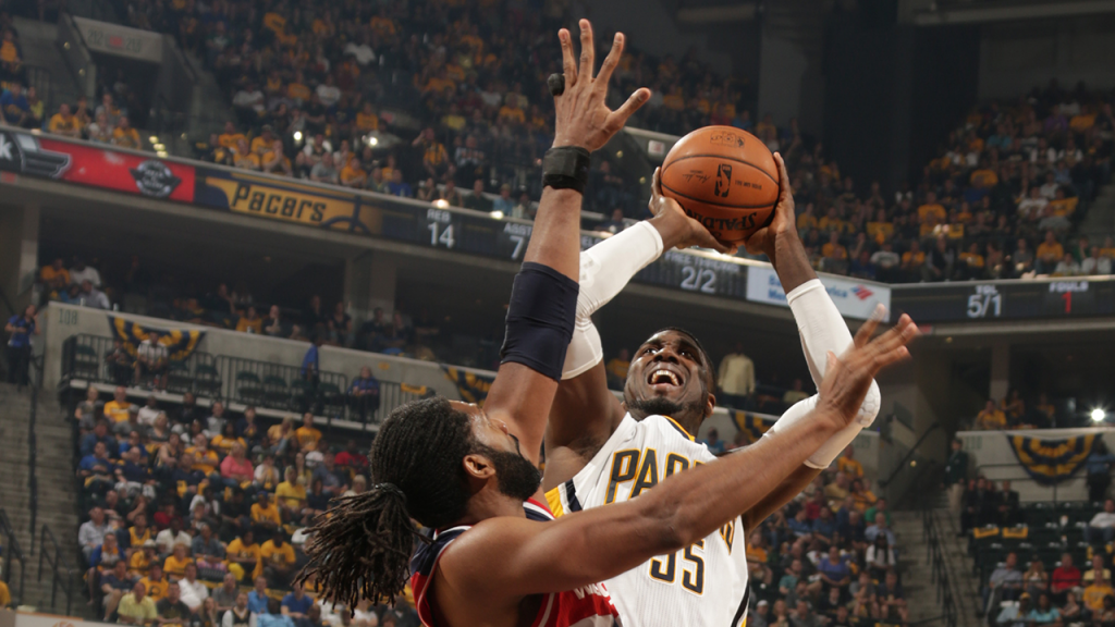 Roy Hibbert regains form in Pacers' Game 2 win
