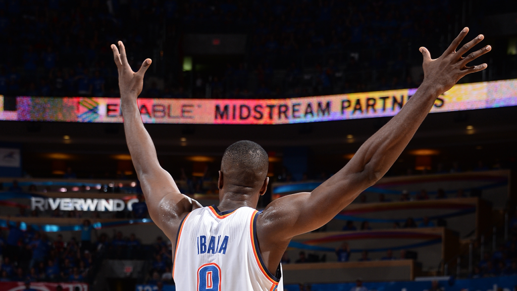 Serge Ibaka Ignites the Thunder in Game 3 vs the Spurs