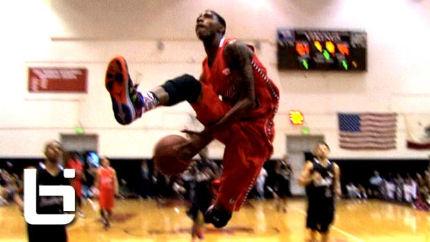 Terry Larrier (VCU) KILLS The Eastbay Dunk In Ballislife All American Game!!