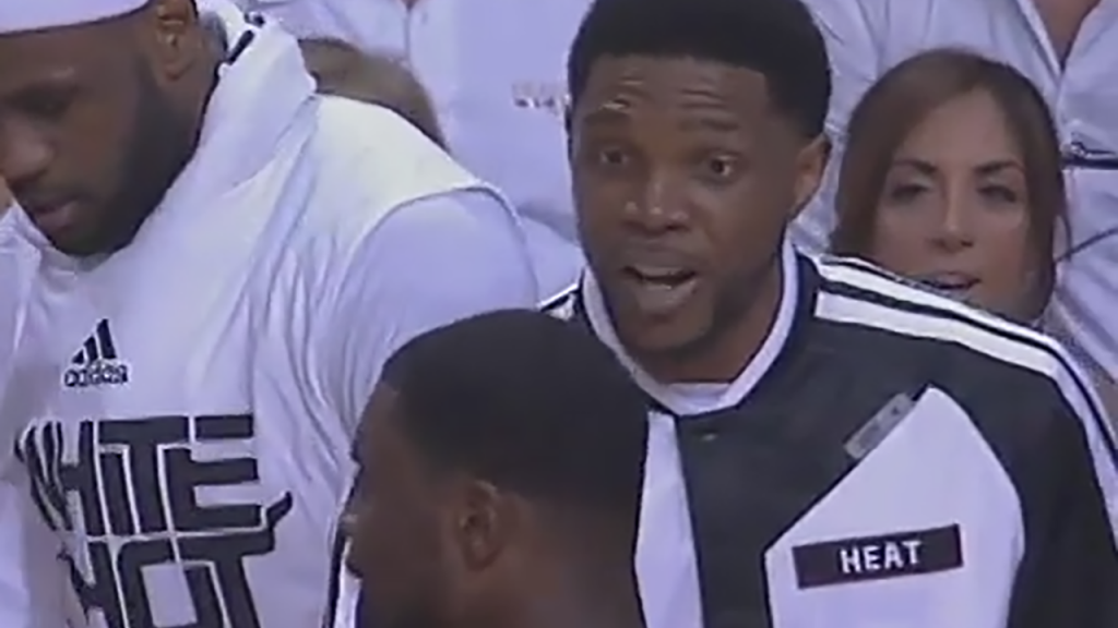 "a355f633c3d2 Udonis Haslem tell Lance Stephenson ""I m going to f  k you up."""
