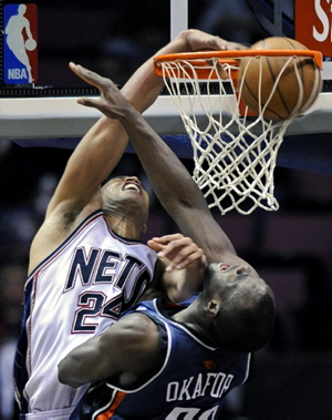Richard Jefferson, Emeka Okafor