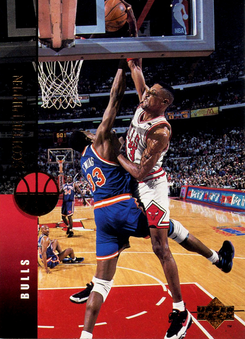 Scottie Pippen His Dunk Patrick Ewing – Best & Most